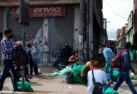 María Paz, el barrio de Corabastos donde no hay cuarentena