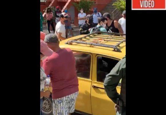 VIDEO: Habitantes de El Rodadero se niegan a recibir pacientes con COVID-19