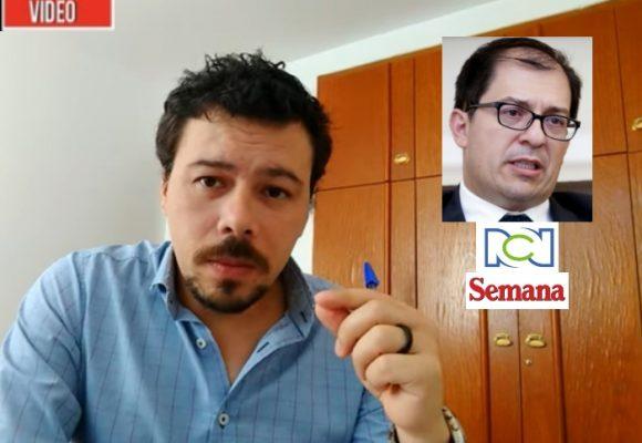 VIDEO: El fiscal y su spin con los medios RCN y Semana