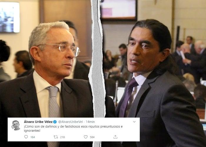 Vainazo de Álvaro Uribe a Gustavo Bolivar