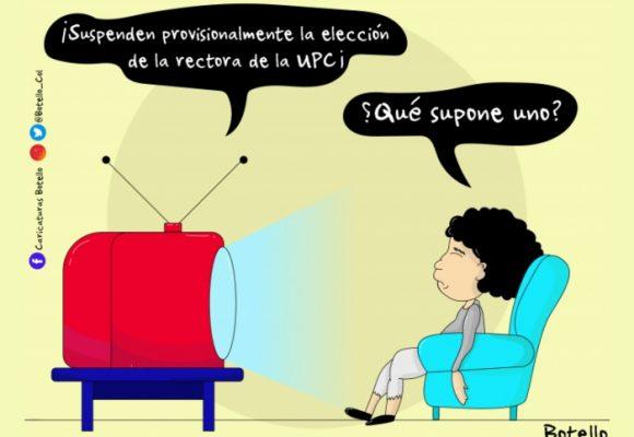 Caricatura: Sobre la elección de la rectora de la UPC