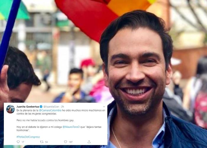 """""""Deje tantas hormonas"""" burla homofóbica en el congreso"""