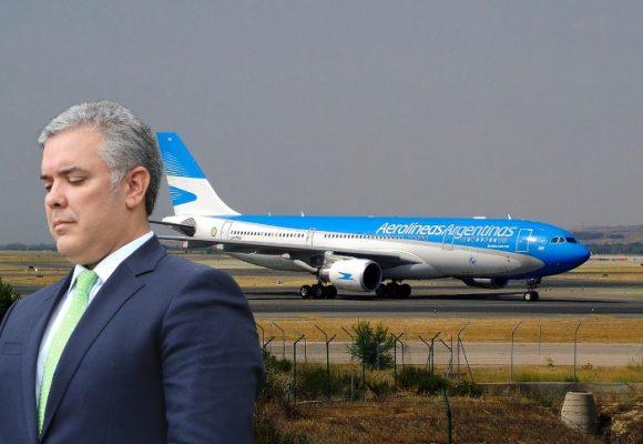 ¿Gobierno rechaza vuelo ofrecido por Argentina para repatriar colombianos?