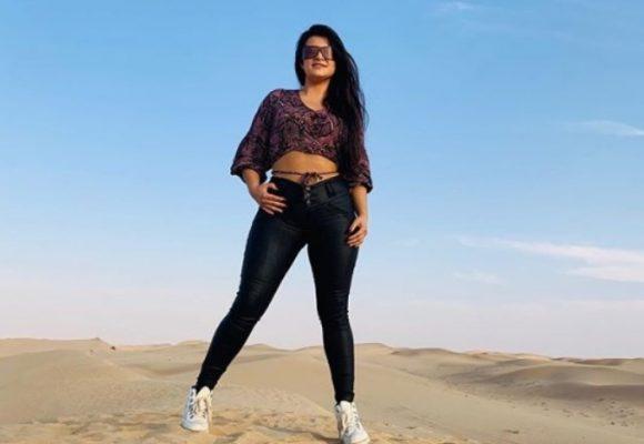 Vivi Guerrero, la cantante pastusa que se abre camino en Dubai