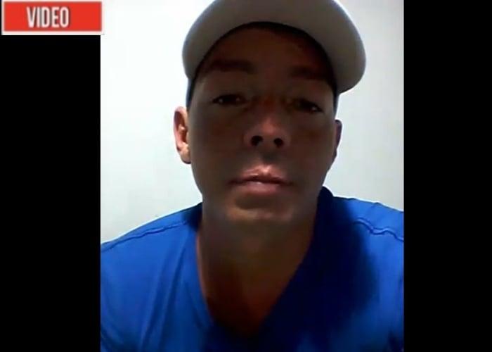 VIDEO: Las suplicas de un líder social amenazado de muerte por paramilitares