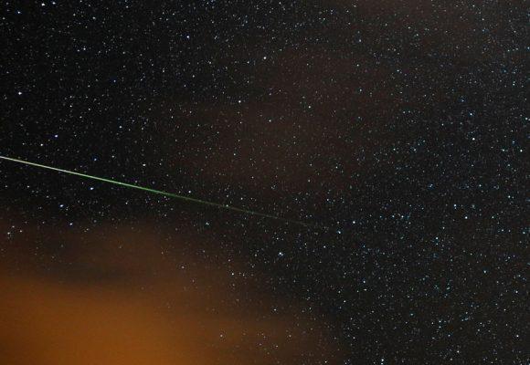 Una bola de fuego sobrevuela España a 82 mil kilómetros por hora. VIDEO