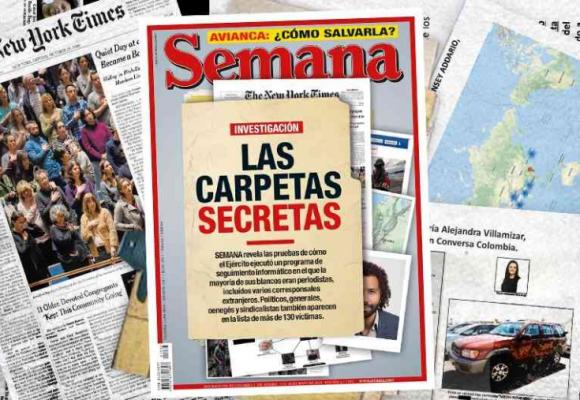 Reacciones en redes sobre investigación de Chuzadas de Revista Semana