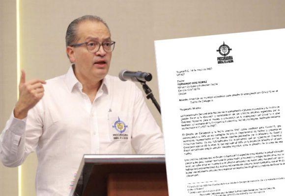Procuraduría presiona en Cartagena por desorden para controlar la COVID-19