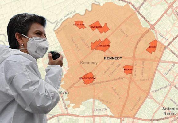 Se extiende la alerta naranja en Kennedy: estos son los barrios