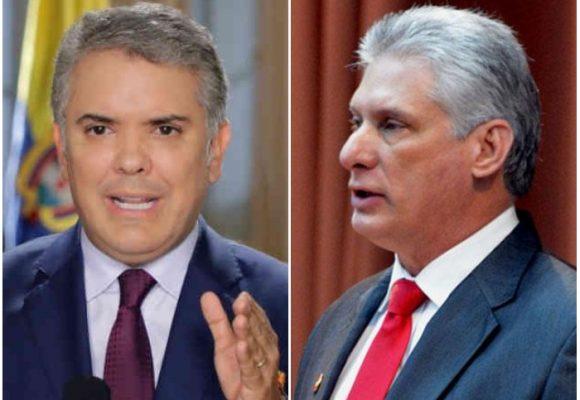 La inaceptable actitud de Duque con Cuba