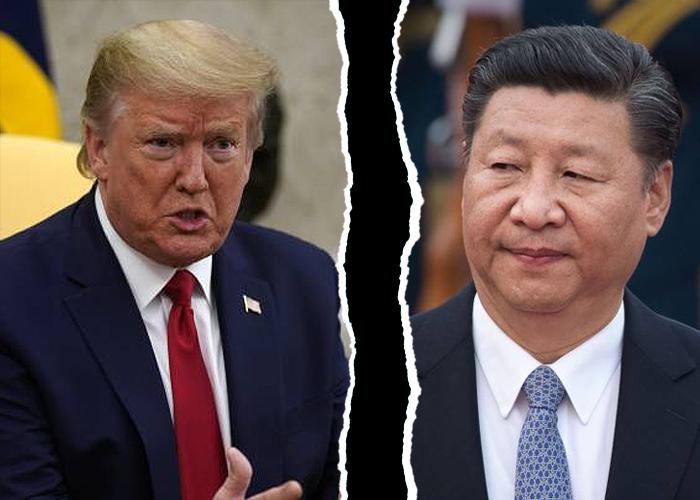 Trump amenaza con romper lazos con China por pandemia y descarta hablar con Xi