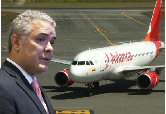 Frenazo de Duque a Avianca y su venta de pasajes