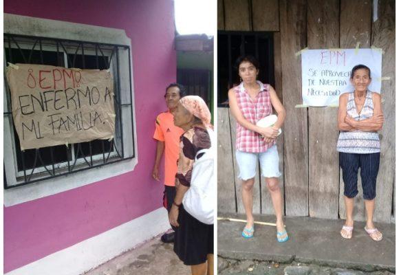 EPM trajo enfermedades, desplazamiento y desempleo: quejas de los campesinos