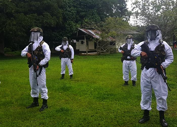 ¿Militarizar lleva el coronavirus al campo?