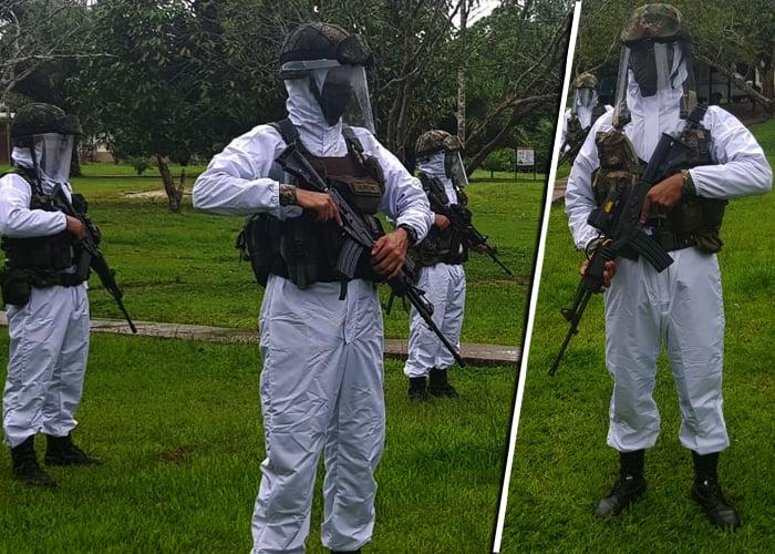Gobierno dota a militares para el combate al COVID-19 en Amazonas