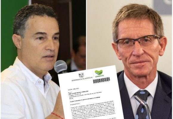 Aníbal Gaviria no quiere protestas de cocaleros en Antioquia