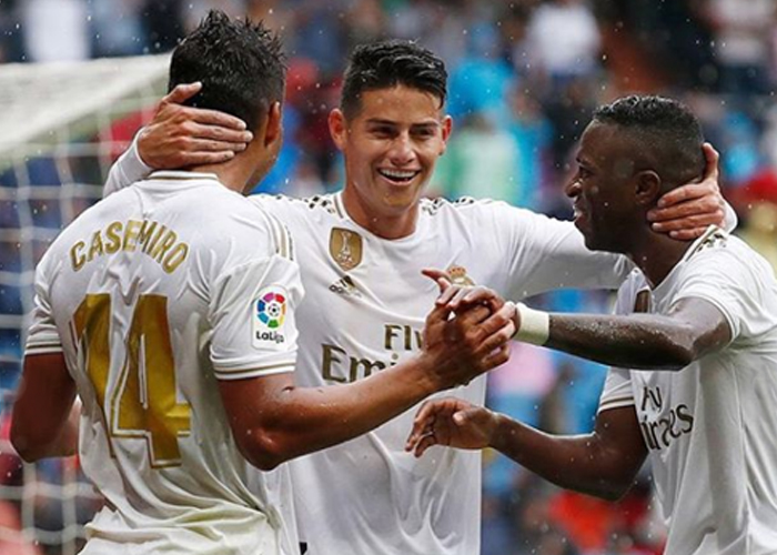 La estrategia de James para vengarse del Real Madrid