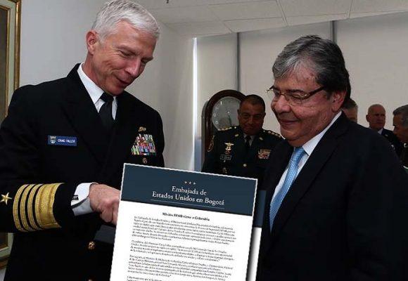 Vía libre a tropas norteamericanas en Colombia