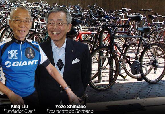 Dos emporios, Giant y Shimano, fabrican las bicicletas del mundo