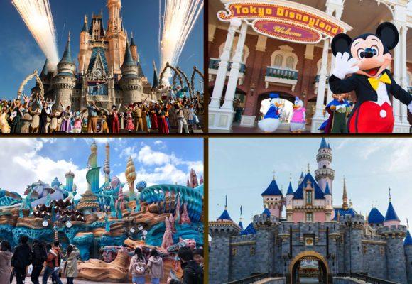 La cuarentena logró cerrar los 5 grandes parques de diversión del mundo