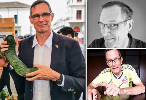 El alemán Peter Ptassek, un embajador de lavar y planchar