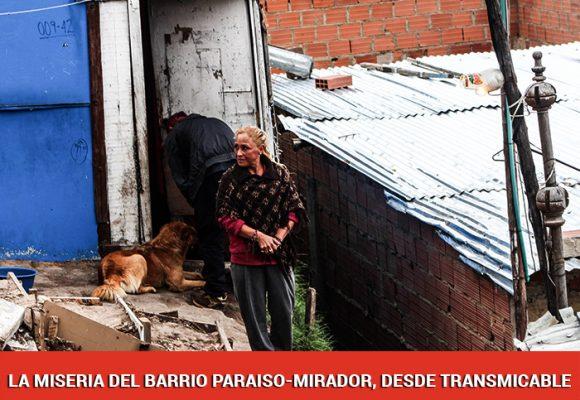 En lo alto de Ciudad Bolivar, un barrio se ahoga olvidado por el COVID 19
