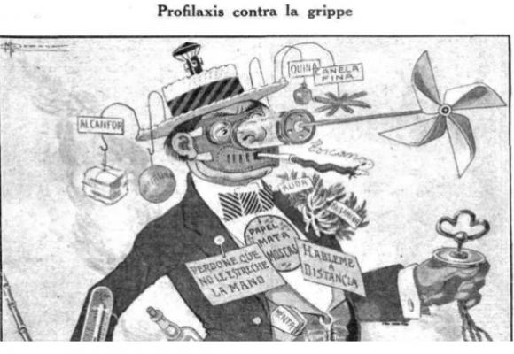 La revista que recomendaba el aislamiento contra la pandemia en 1918