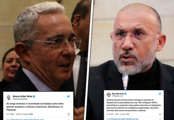 Uribe y Roy Barreras: dos viejos compadres enfrentados en los estrados judiciales