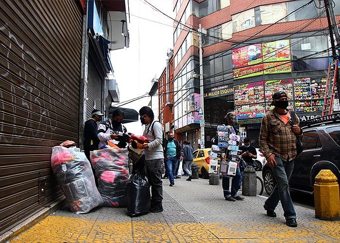 Lo preocupante de la curva de COVID-19 en Colombia