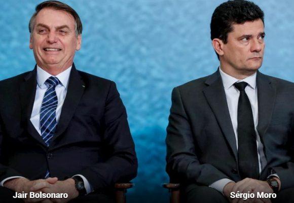 La pelea a muerte entre el juez Moro y Bolsonaro