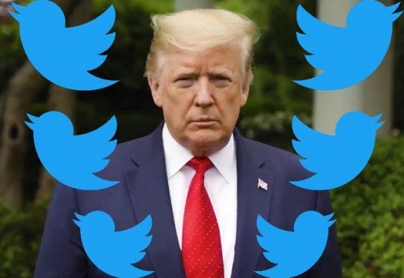 Twitter le pone freno a los tuits de Donald Trump