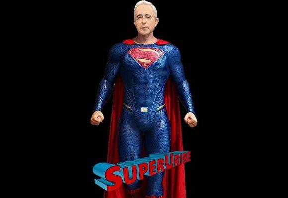 Super Uribe, la respuesta de los uribistas al estreno de la serie Matarife