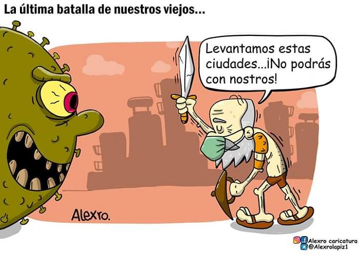 Caricatura: La última batalla de nuestros viejos...