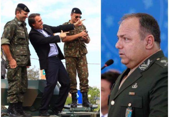 Jair Bolsonaro enfrenta el coronavirus con militares