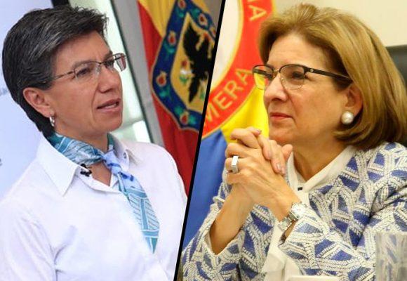 Mano a mano entre Claudia López y Minjusticia por contagio en calabozos de la Policía
