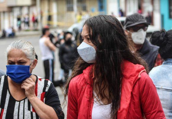 279 nuevos casos de contagio y 10 personas fallecidas más por coronavirus en Colombia