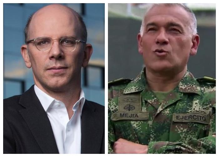 """""""Alejandro Santos y Ricardo Calderon son un par de sicarios morales"""": Cnel. Hernán Mejía"""