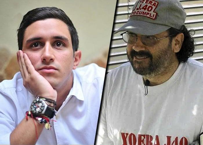 Hijo del temible jefe paramilitar Jorge 40, trabaja en el Ministerio del Interior
