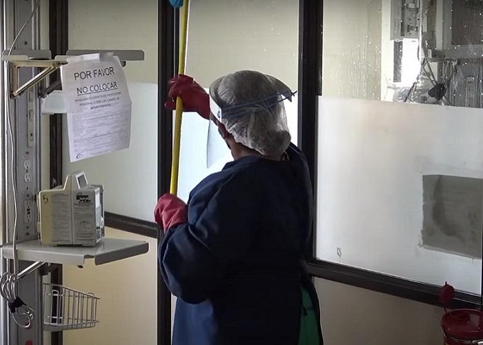 Doce horas combatiendo el COVID-19 en un hospital de Ibagué