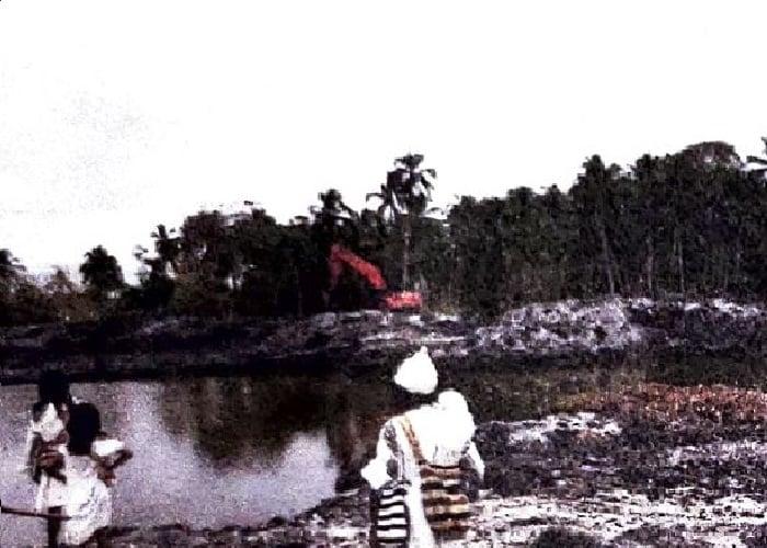 La destrucción que se cierne sobre la desembocadura del Río Ancho en La Guajira