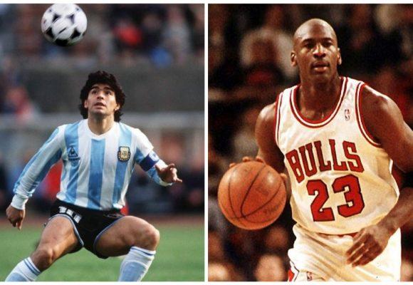 Maradona y Jordan: el precio de ganar