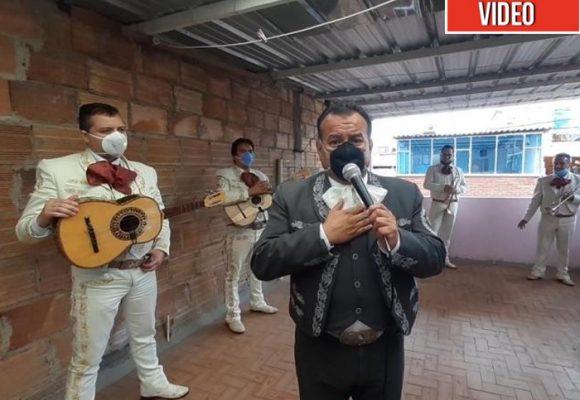 Las tristes serenatas de los mariachis para no morir de hambre.