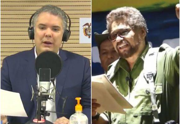 Primer golpe de Duque a la estructura de Iván Márquez