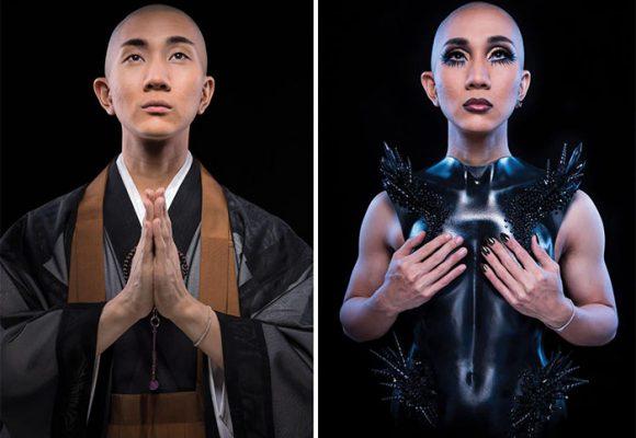 Gay y maquillador de reinas: Kodo, el excéntrico monje budista