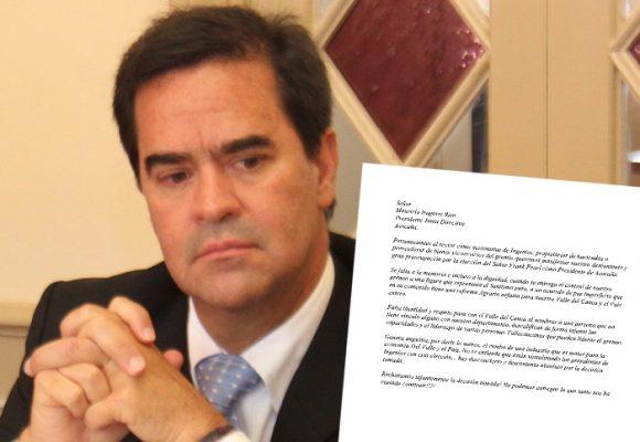 Uribistas de Asocaña bloquean llegada de Frank Pearl a la presidencia del gremio