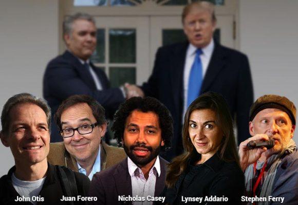 La chuzada a los 5 periodistas norteamericanos que le puede salir cara a Colombia
