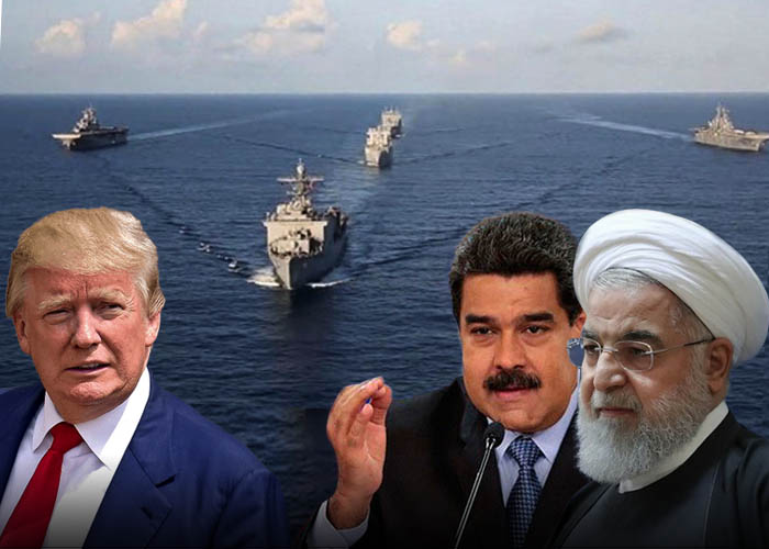 Irán reta a Trump: cinco buques petroleros rumbo a Venezuela