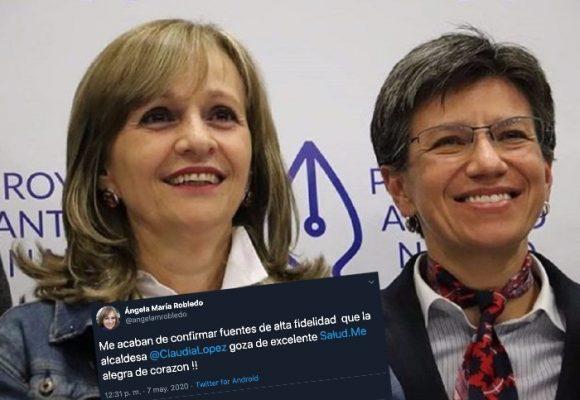 Trino aclaratorio de Ángela M. Robledo