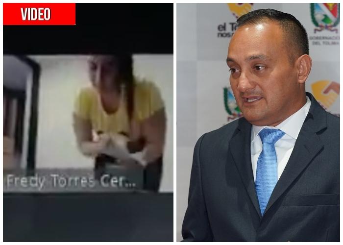 Secretario de Ambiente del Tolima se depila en sesión de la Asamblea