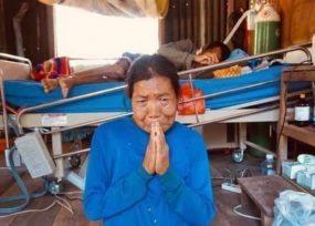 Leticia en emergencia hospitalaria y de hambre